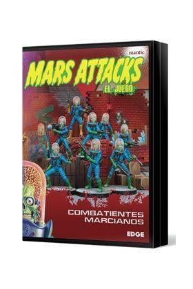 MARS ATTACKS: COMBATIENTES MARCIANOS