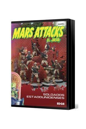 MARS ATTACKS: SOLDADOS ESTADOUNIDENSES