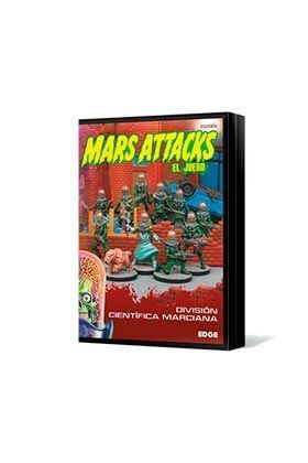 MARS ATTACKS: DIVISION CIENTIFICA MARCIANA