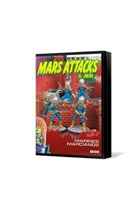 MARS ATTACKS: MARINES MARCIANOS