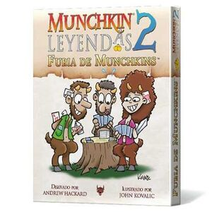 MUNCHKIN LEYENDAS 2 - JCNC FURIA DE MUNCHKINS