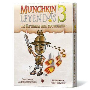 MUNCHKIN LEYENDAS 3 - JCNC LA LEYENDA DE MUNCHKIN