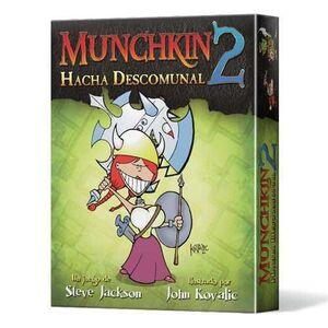 MUNCHKIN 2. HACHA DESCOMUNAL ED. REVISADA