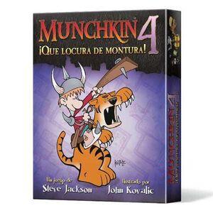 MUNCHKIN 4: QUE LOCURA DE MONTURA