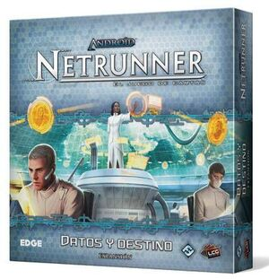 ANDROID NETRUNNER LCG: DATOS Y DESTINO