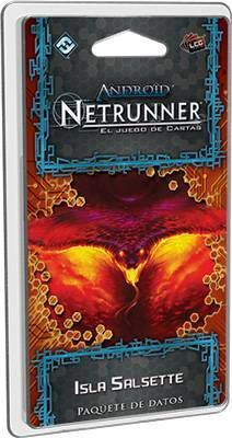 ANDROID NETRUNNER LCG: ISLA SALSETTE Y DOGMA - CICLO DE MUMBAD