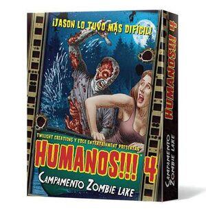 HUMANOS!!! 4: CAMPAMENTO ZOMBIE LAKE