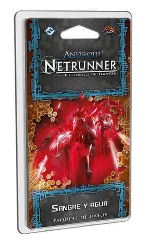 ANDROID NETRUNNER LCG: SANGRE Y AGUA / ARENA ROJA