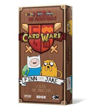 CARD WARS - FINN CONTRA JAKE