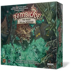 ZOMBICIDE: BLACK PLAGUE. NO REST FOR THE WICKED