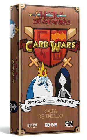 CARD WARS: REY HIELO VS MARCELINE