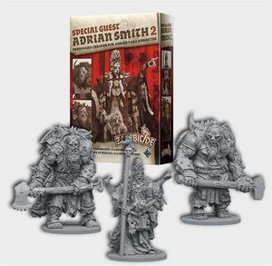 ZOMBICIDE BLACK PLAGUE GREEN HORDE SPECIAL GUEST: ADRIAN SMITH 2
