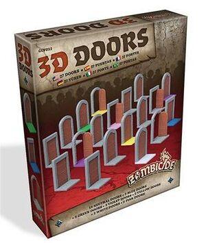 ZOMBICIDE: BLACK PLAGUE. 3D DOORS PACK