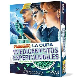 PANDEMIC: LA CURA. MEDICAMENTOS EXPERIMENTALES