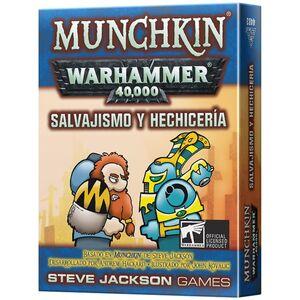 MUNCHKIN WARHAMMER 40000 SALVAJISMO Y HECHICERÍA