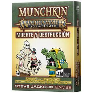 MUNCHKIN WARHAMMER AGE OF SIGMAR MUERTE Y DESTRUCCIÓN