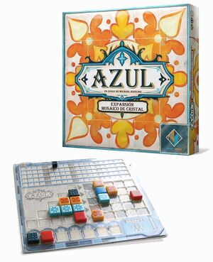 AZUL: MOSAICO DE CRISTAL