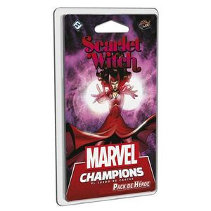 MARVEL CHAMPIONS LCG SCARLET WITCH - BRUJA ESCARLATA