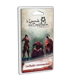 LA LEYENDA DE LOS CINCO ANILLOS LCG LEALTADES CORROMPIDAS