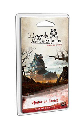 LA LEYENDA DE LOS CINCO ANILLOS LCG HONOR EN LAMAS