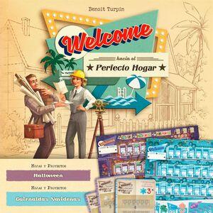 WELCOME HACIA EL PERFECTO HOGAR JCNC EXP 3: HALLOWEEN/GUIRNALDAS NAVIDEÑAS