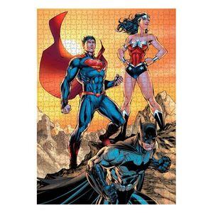 LIGA DE LA JUSTICIA PUZZLE 1000 PIEZAS BATMAN / SUPERMAN / WONDER WOMAN