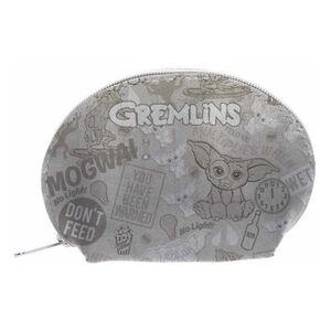 GREMLINS ESTUCHE OVALADO GRIS PATTERN