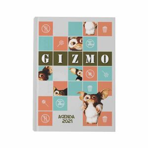 AGENDA 2021 GREMLINS GIZMO FRAGMENTOS CUADRICULA