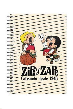ZIPI Y ZAPE DESDE 1948 LIBRETA ESPIRAL