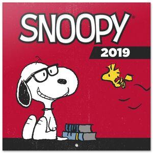 CALENDARIO 2019 SNOOPY 30X30 CM