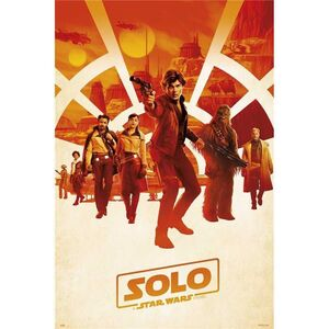 POSTER STAR WARS SOLO A STAR WARS STORY ONE SHEET 61 X 91 CM
