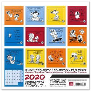 CALENDARIO 2020 SNOOPY 30X30