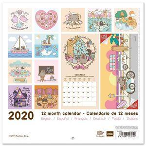 CALENDARIO 2020 PUSHEEN ROSE COLLECTION 30X30