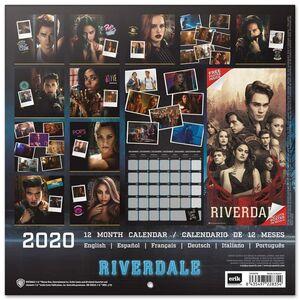 CALENDARIO 2020 RIVERDALE 30X30