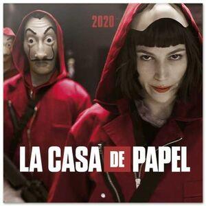 CALENDARIO 2020 LA CASA DE PAPEL 30X30