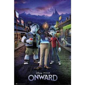 POSTER ONWARD TWO BROTHERS DISNEY 61 X 91 CM