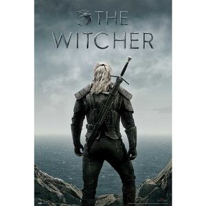POSTER THE WITCHER BACKWARDS 61 X 91 CM
