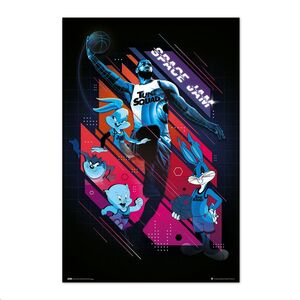 POSTER SPACE JAM 2 ALL CHARACTERS 61 X 91,5 CM