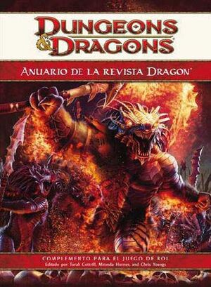 DD4: ANUARIO REVISTA DRAGON 2010
