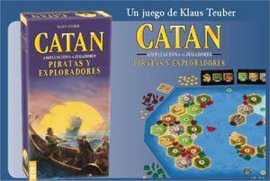 CATAN PIRATAS Y EXPLORADORES AMPLIACION 5-6 JUGADORES