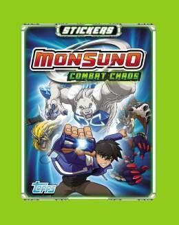 MONSUNO TOPPS BLISTER 10 SOBRES