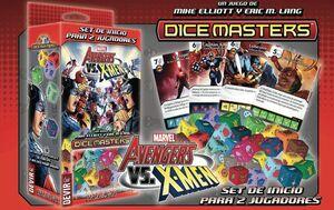 DICE MASTERS AVENGERS VS X-MEN (CASTELLANO)