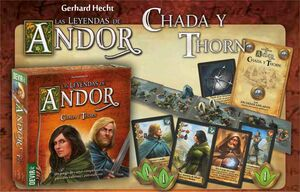 LAS LEYENDAS DE ANDOR: CHADA Y THORN