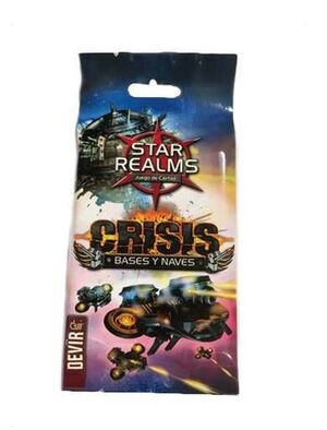STAR REALMS CRISIS. BASES Y NAVES MINIEXPANSION