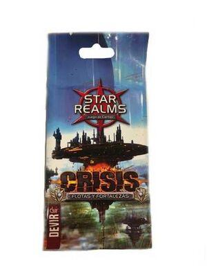 STAR REALMS CRISIS. FLOTAS Y FORTALEZAS MINIEXPANSION