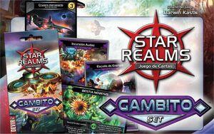 STAR REALMS GAMBITO SET SOBRE