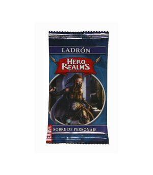 HERO REALMS. SOBRE DE PERSONAJES: LADRON