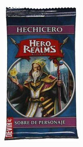 HERO REALMS. SOBRE DE PERSONAJES: HECHICERO