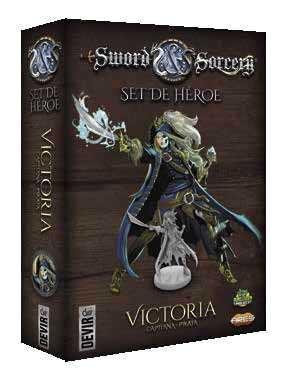 SWORD AND SORCERY. SET DE HEROE: VICTORIA
