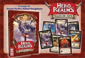 HERO REALMS: MAZO DE JEFE - DRAGON